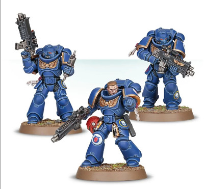 Space Marine Primaris, easy to build Warhammer 40k
