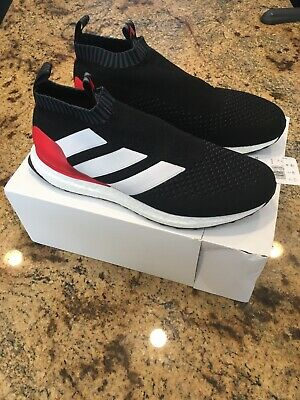 0fe61e4d75ef Adidas Ace 16+ Pure Control Ultra Boost BY9087 PREDATOR BLACK Red Size 11.5