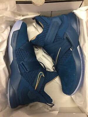 fd9589ddfe63 New Nike Lebron Soldier XII SFG Agimat Basketball Shoes Blue AO4054-400 Men s  11