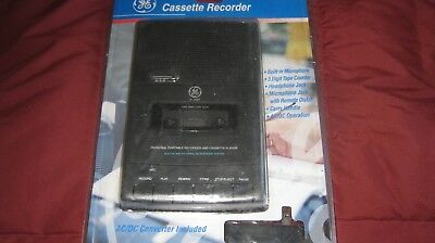 GE Cassette Recorder 3-5027 Personal Portable Player General Electric New Sealed