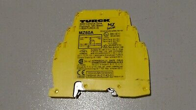 MZ60A  Turck shunt diode safety barrier