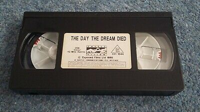 VHS Video Cassette Only The Day The Dream Died - Who Killed Kennedy And Why