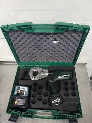 Greenlee Gator 18V Battery Quad 4 Point Dieless Hydraulic Crimper EK06FTL