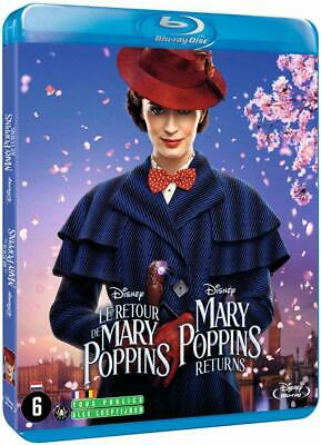 Le Retour De Mary Poppins Disney  Blu Ray  Neuf Sous Cello