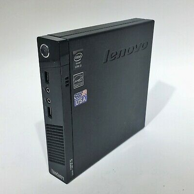 Lenovo ThinkCentre M73 Tiny i3-4130T 2.9GHZ 4GB Ram NO HDD