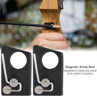 Magnetic Arrow Rest Recurve Bow Archery Hunting Shooting Outdoor