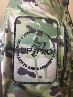 UF PRO Tactical Cover patch Multicam. With Hooks Backing.