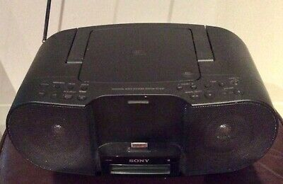 SONY ZS-S3iP PERSONAL AUDIO DOCKING SYSTEM for iPod or iPhone with CD Player