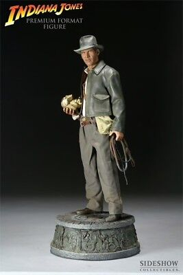 Sideshow INDIANA JONES Premium Format 1/4 Scale #7192 Raiders NEW SEALED SHIPPER