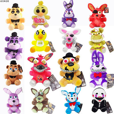 FNAF Five Nights at Freddy's Horror Game Plush Stuffed Doll Kid Plushie Toy Gift