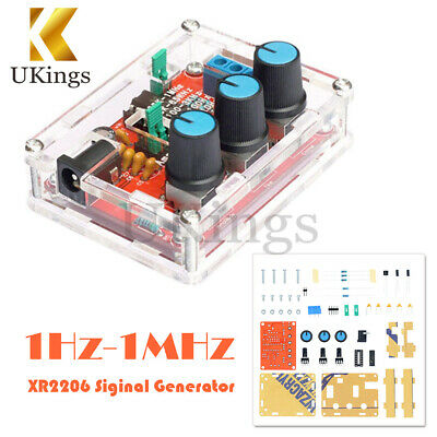 DIY Kits 1Hz-1MHz XR2206 Function Signal Generator Sine Triangle Square Output