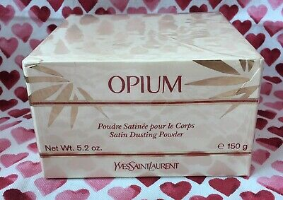 YSL Opium 150g Satin Dusting Body Powder - Rare, Sealed