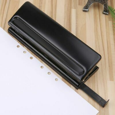 6 Hole DIY Punch Paper Craft Cutter Adjustable A4 A5 A6 Loose-Leaf Paper Puncher
