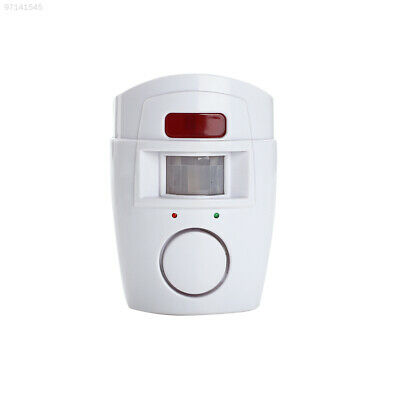 1EAB 2 Remote Controller Motion Sensor Alarm Office Anti-Theft Entry Safety