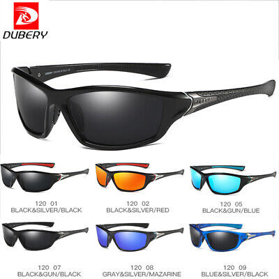 DUBERY Men's Sunglasses Polarized Glasses Driving Sport Fishing Eyewear UV400 AU