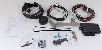 New Genuine Vw Caddy Maxi 13 Pin Towbar Towing Electrics Wiring Kit + Ecu