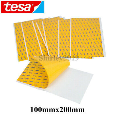 """0.1mm thick TESA 68547 Double Sided Tape Ultra Thin Sticker 4""""x8"""" 10cm*20cm"""