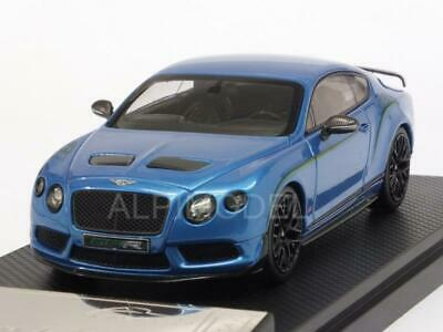 Bentley Continental GT3R 2015 Blue Metallic 1:43 ALMOST REAL 430403