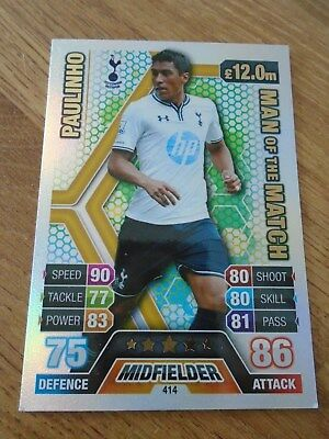 Match ATTAX 2013//14 premier League #319 Andros townsend-tottenham Hotspur