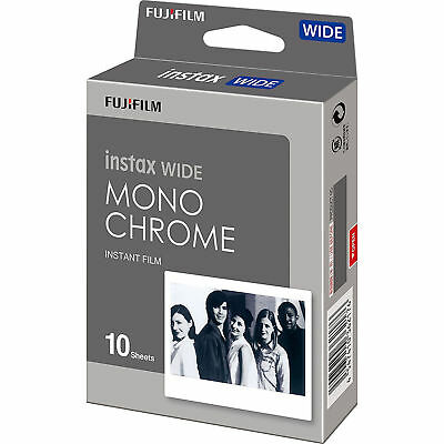 Fujifilm Instax WIDE Monochrome Film Pack (10 Shots)