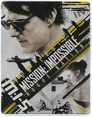 MISSION IMPOSSIBLE 5 / Blu-Ray Steelbook Neuf sous blister - VF