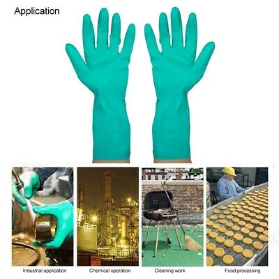 Household Nitrile Gloves Chemical Resistant Gloves washing Up cleaning Gloves