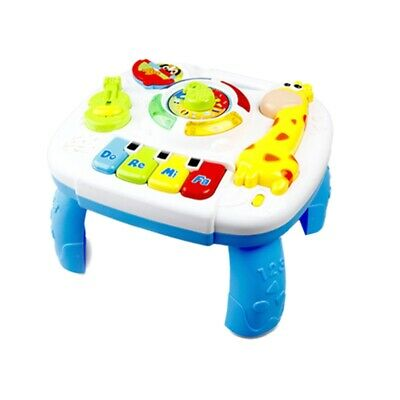 Baby Toy Music Study Table Early Education Music Activity Center Game Table K2Y1
