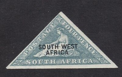 South West Africa 1927 - SG44A Air 4d Imperf Overprint  MH (B10A)