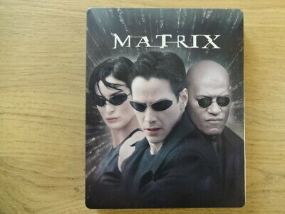 Matrix steelbook Blu ray