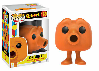 Funko Pop! Q-BERT Classic Video Game Icon #169 (Vaulted) w/protector