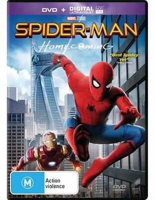 Spider-Man Homecoming - Dvd Like new (C)