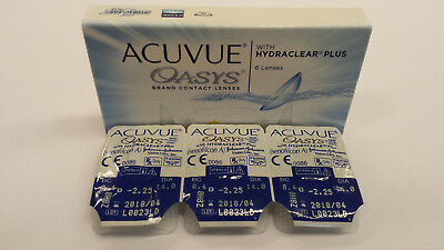 ACUVUE Oasys with Hydraclear Plus (3er Pack / Blister) BC 8.4 von J&J