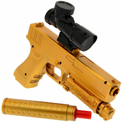 Automatic USB Kids Adults Rapid Fire GEL SOFT Water Crystal Bullet Toy Gun 2019