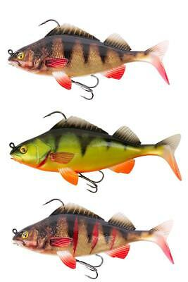 Fox Rage Replicant Super Natural Perch 14cm 45g Wounded Perch Hecht Zander Top