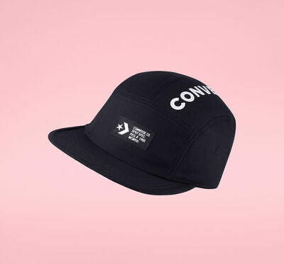 2012ad7ccb462 Mens Converse One Star SpecCamp Cap 5-Panel Adjustable Hat Black/White One  Size