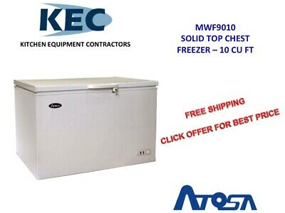 ATOSA 10 Cu Ft. Solid Top Chest Freezer MWF9010