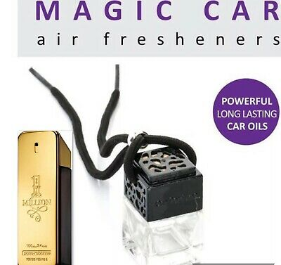 Paco Rabanne 1 Million Aftershave Inspired Luxury Car Air Freshener Ornament One