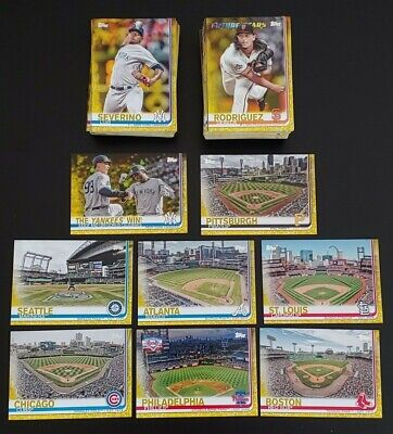 2019 Topps Series 1 YELLOW PARALLEL WALGREENS You Pick  $0.99 Max Ship