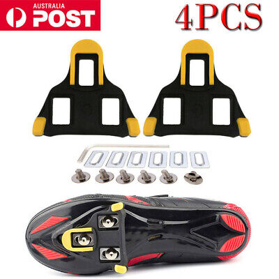 4pcs Road Self-locking Bike Cycling Pedal Cleats Set For Shimano SM-SH11 SPD-SL