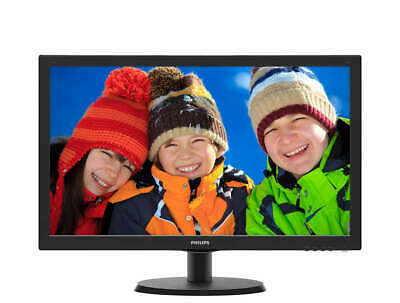 "MONITOR PHILIPS 22""  LED FULL HD 1920x1080 HDMI VGA VESA PC SCHERMO 22 POLLICI"