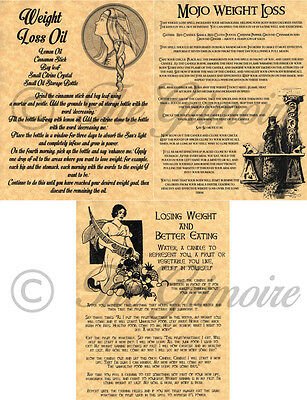 WEIGHT LOSS SPELLS Book of Shadows Pages, Witchcraft, Wicca, Real Spells!