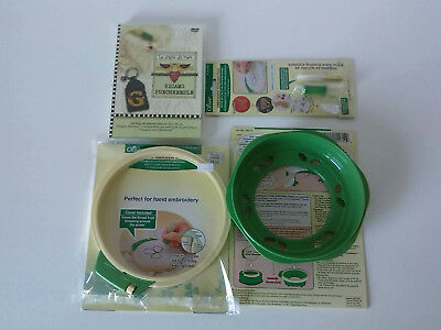 Kit completo per Punch Needle Clover + DVD tutorial Ricamo PunchNeedle