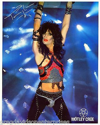 Tommy Lee 8x10 Lithograph w Bio Motley Crue Shout At The Devil