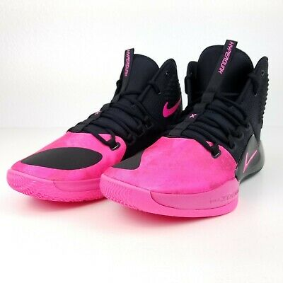 decf762047e Nike Hyperdunk X Kay Yow Men s Basketball Shoes Black Pink AT3663 001 Size  11 12