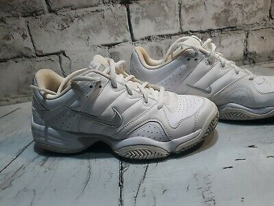 new product ca75e a355a Womens Nike City Court Athletic Training Shoes Size 8 White Leather
