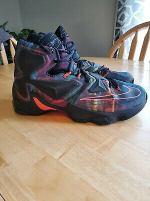 2a322e0ab1b Nike Lebron XIII 13 Akronite Philosophy High Top Basketball Shoes Size 11  Mens