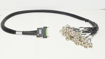 Evertz Xlink-BHP-1 to BNC 32 Audio AES Break Out Cable 1 Meter for EQX Routers