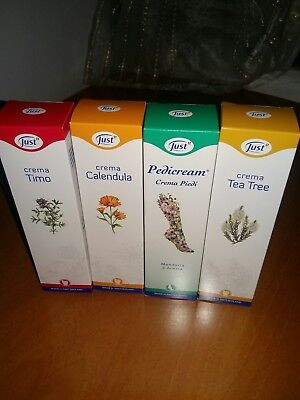 crema timo+crema calendula+crema piedi+crema tea tree just 100ml cad