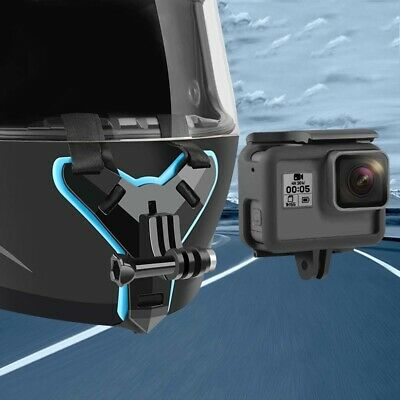 Camera Full Face Helmet Chin Mount Holder Support Stand Accessories for GoPro