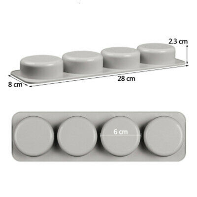 DIY Silicone Soap Mold for Handmade Soap 3D Mould Round Soaps Molds  Gifts